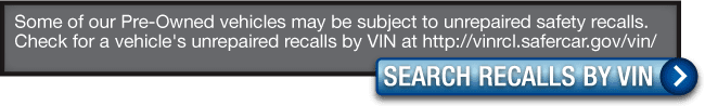Search for Recalls by VIN