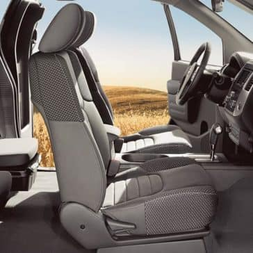 2019 Nissan Frontier Interior Space
