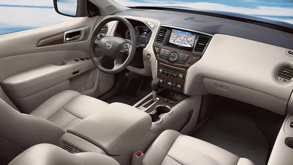 2020 Nissan Pathfinder Dash