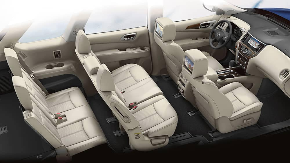 2020 Nissan Pathfinder Seating