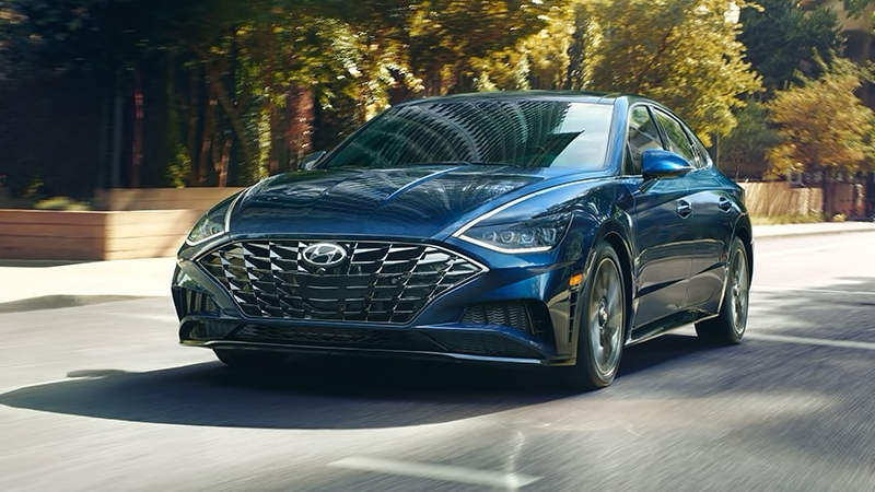 2020 Hyundai Sonata front end