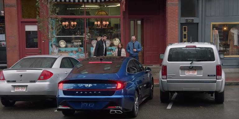 Remote Parking Assist with 2020 Hyundai Sonata