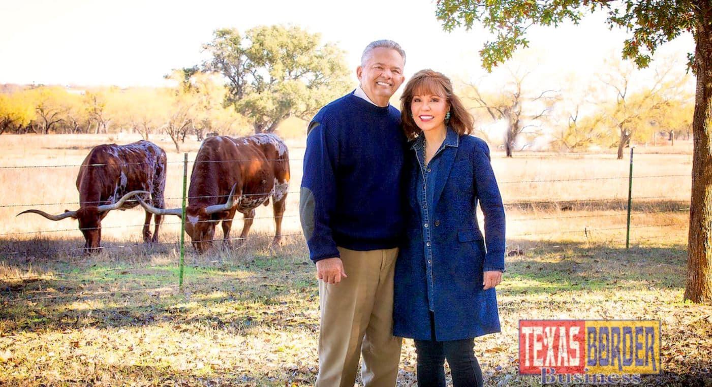 Robert and Janet Vackar At Their Farm
