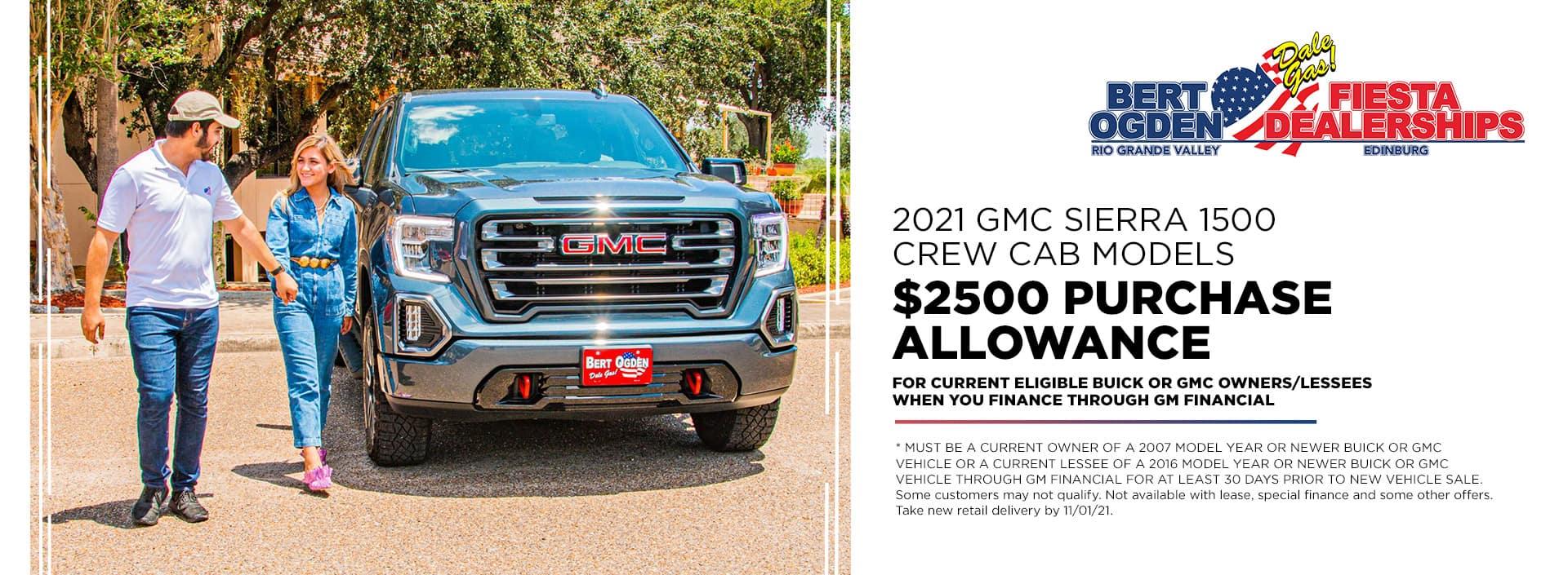 2021 GMC Sierra Offer | McAllen, TX