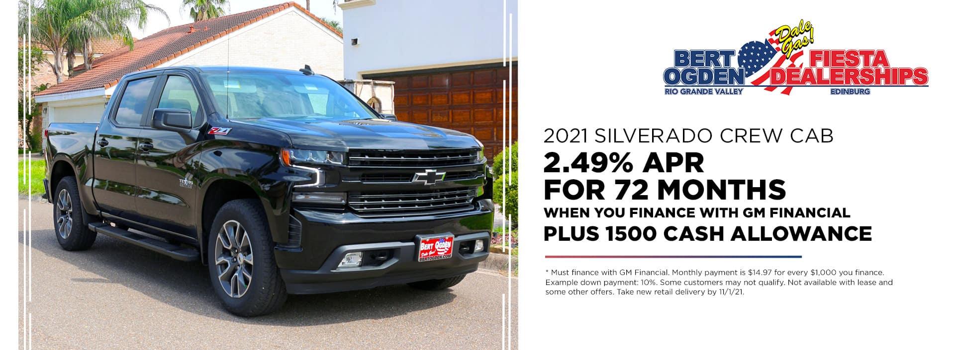 2021 Silverado 1500 | Mission, TX