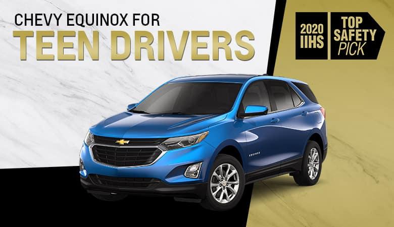 Chevrolet Equinox Is Safe for Teen Drivers - Bert Ogden Auto Outlet - Mercedes, TX