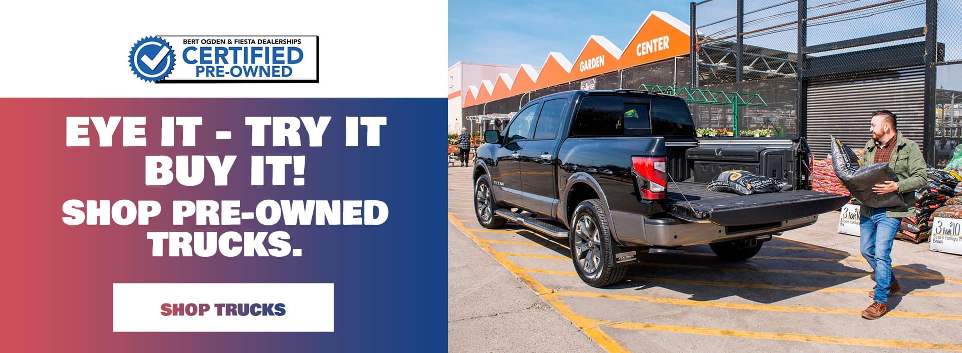Shop Pre-owned Trucks | Mercedes, TX