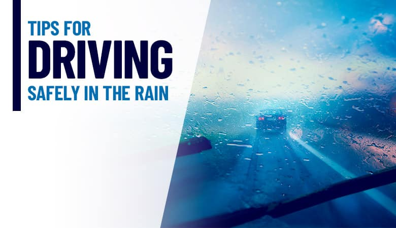 Tips for Driving in the Rain | Bert Ogden Auto Outlet | Mercedes, TX