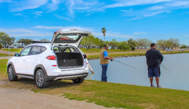 Hyundai Tucson at the lake | Mercedes, TX