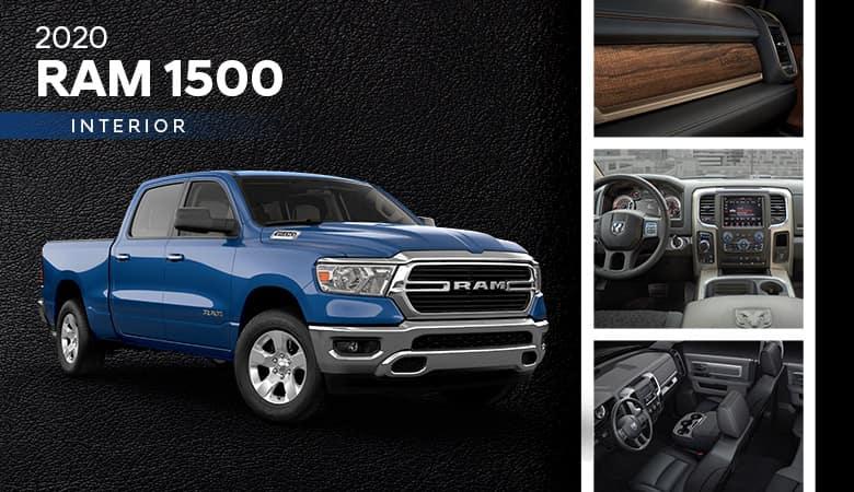 2020 Ram 1500 Interior | Harlingen, TX