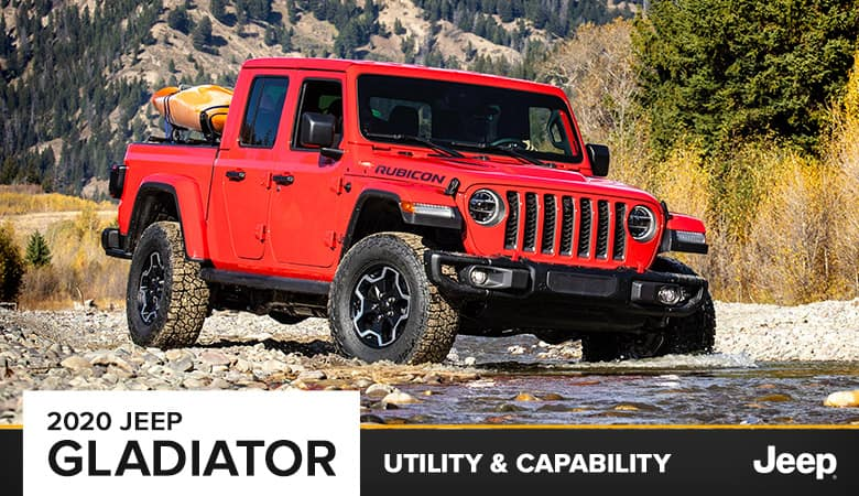 2020 Jeep Gladiator Utility & Capability | Harlingen, TX