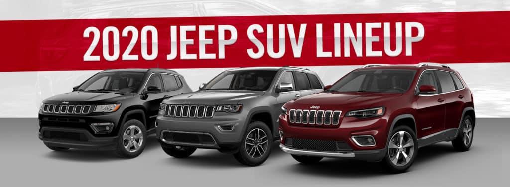 2020 Jeep SUV Lineup   Bert Ogden CDJR   Harlingen, TX