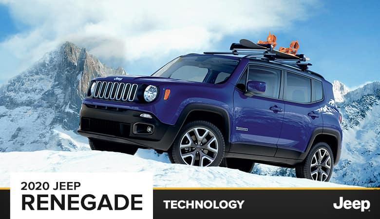 2020 Jeep Renegade Technology   Bert Ogden CDJR in Harlingen, TX