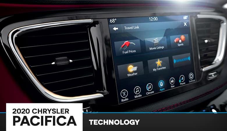 2020 Chrysler Pacifica Technology | Bert Ogden CDJR | Harlingen, TX