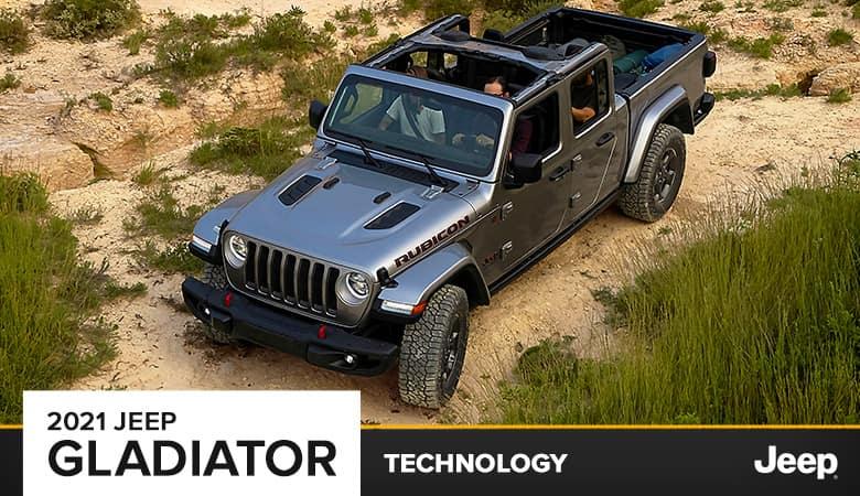 2021 Jeep Gladiator Technology | Bert Ogden CDJR | Harlingen, TX