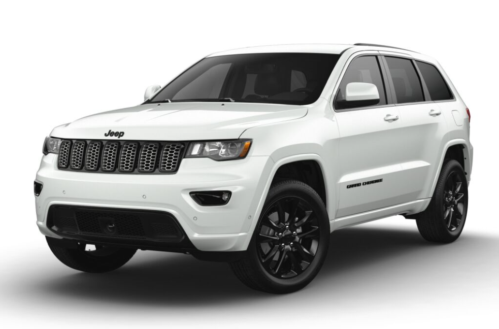 2021 Jeep® Grand Cherokee (excludes SRT®, Trackhawk and L)
