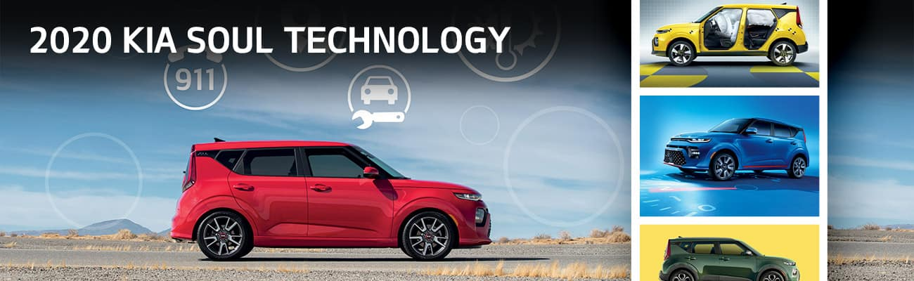 2020 Kia Soul Technology | Bert Ogden Harlingen Kia | Harlingen, TX