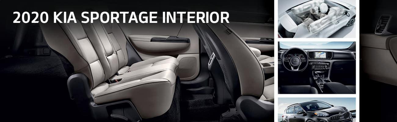 2020 Kia Sportage Interior | Bert Ogden Harlingen Kia | Harlingen, TX