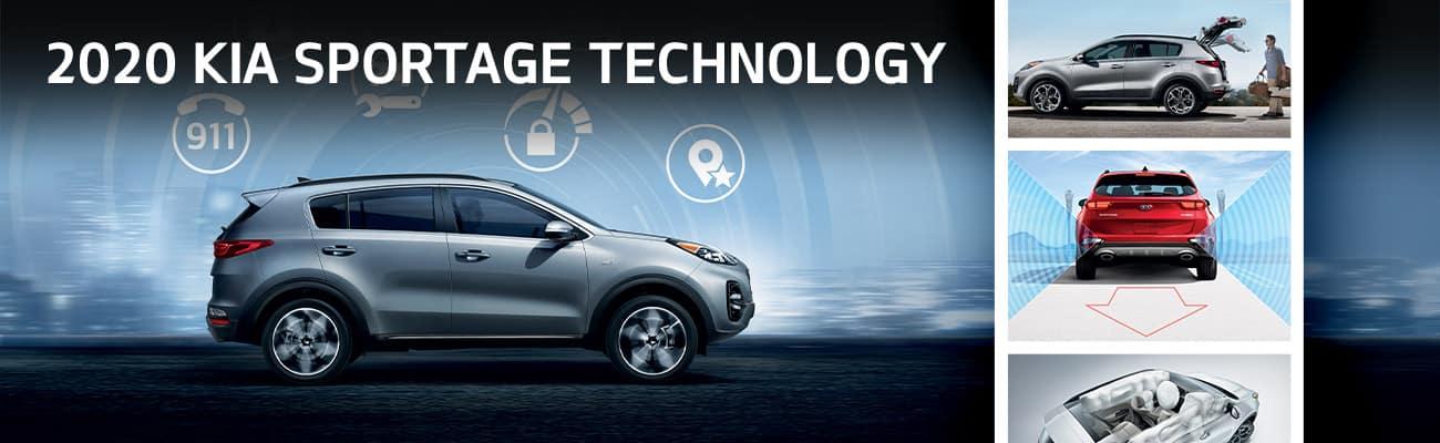 2020 Kia Sportage Technology | Bert Ogden Harlingen Kia | Harlingen, TX