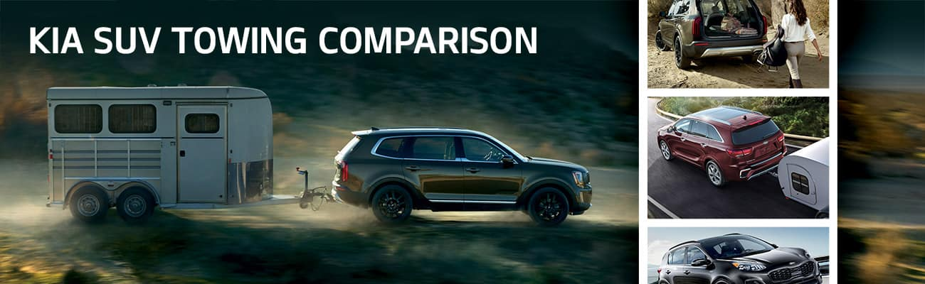 Kia SUV Towing Comparison | Bert Ogden Harlingen Kia | Harlingen, TX