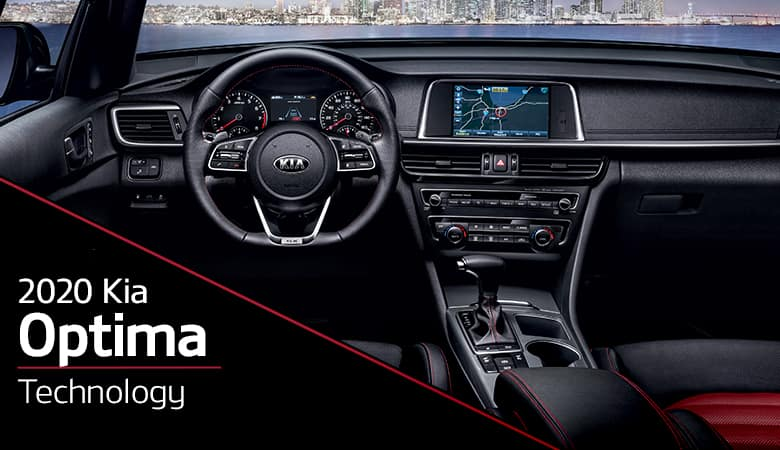 2020 Kia Optima Technology | Bert Ogden Harlingen Kia | Harlingen, TX