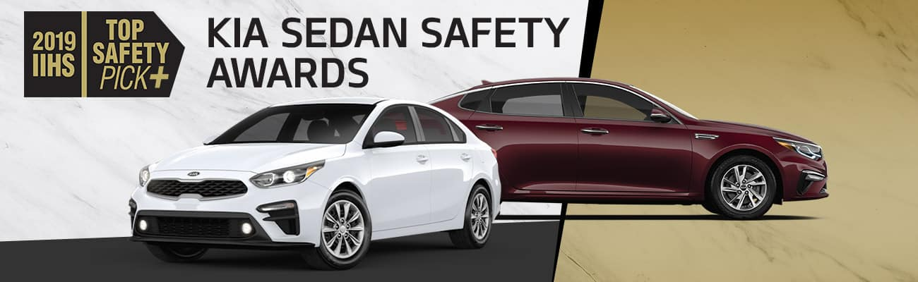 Kia Sedan Safety Awards | Bert Ogden Harlingen Kia | Harlingen, TX
