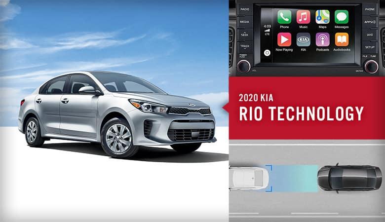 2020 Kia Rio Technology | Bert Ogden Harlingen Kia | Harlingen, TX