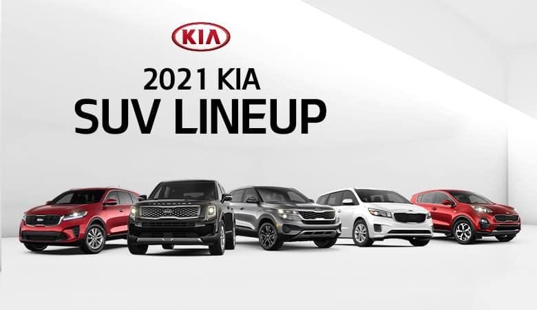 2021 Kia SUV and Minivan Lineup  | Bert Ogden Harlingen Kia | Harlingen, TX