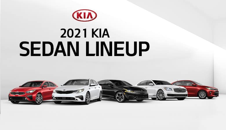 2021 Kia Sedan Lineup | Bert Ogden Harlingen Kia | Harlingen, TX