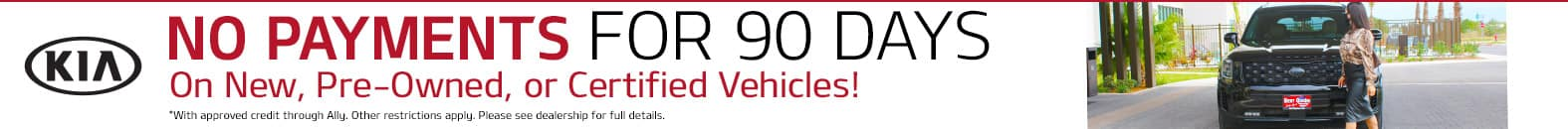 No Payments For 90 Days - Bert Ogden Harlingen Kia in Harlingen, Texas