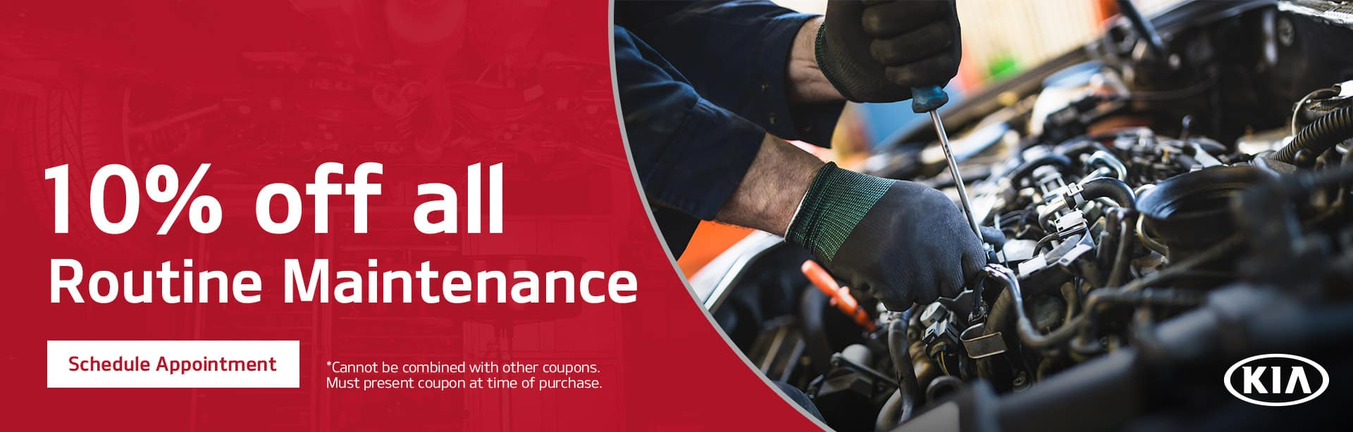 10% Off All Routine Maintenance at Bert Ogden Harlingen Kia in Harlingen, Texas