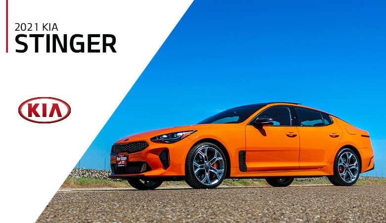 2021 Kia Stinger - Bert Ogden Harlingen Kia in Harlingen, Texas