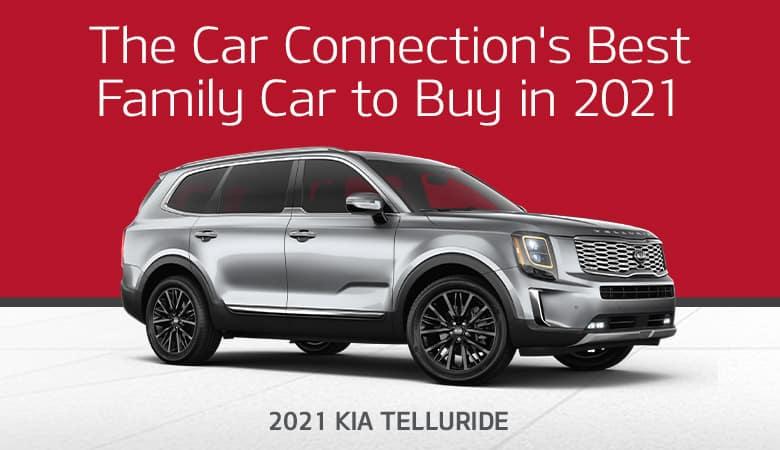 The Car Connection's Best Family Car to Buy in 2021: 2021 Kia Telluride - Bert Ogden Harlingen Kia in Harlingen, Texas