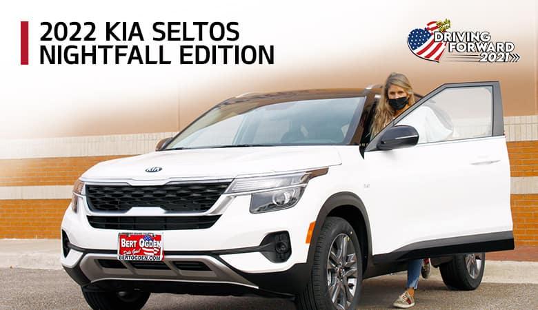 2022 Kia Seltos Nightfall Edition - Bert Ogden Harlingen Kia in Harlingen, Texas