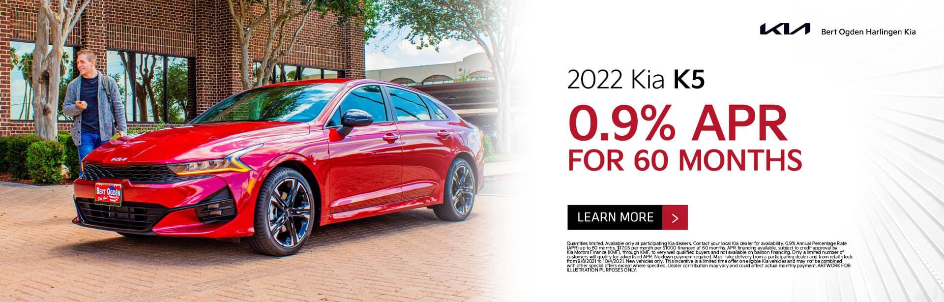 2022 Kia K5 Offer | Bert Ogden Harlingen Kia in Harlingen, Texas