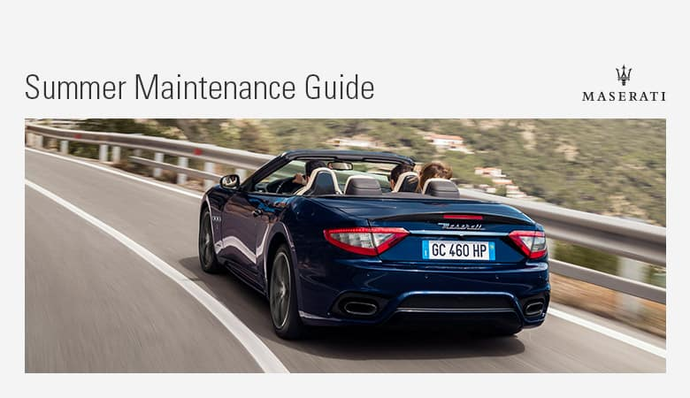 Summer Maintenance | Bert Ogden Maserati | Mission, TX