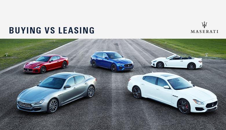 Buy vs. Lease | Bert Ogden Maserati | Mission, TX