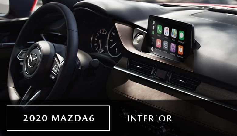 A look inside the 2020 Mazda6, on sale now at Bert Ogden Mazda Edinburg in Edinburg, TX