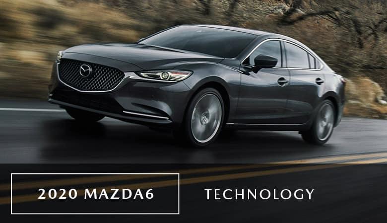An exterior photo of the 2020 Mazda6, on sale now at Bert Ogden Mazda Edinburg in Edinburg, TX