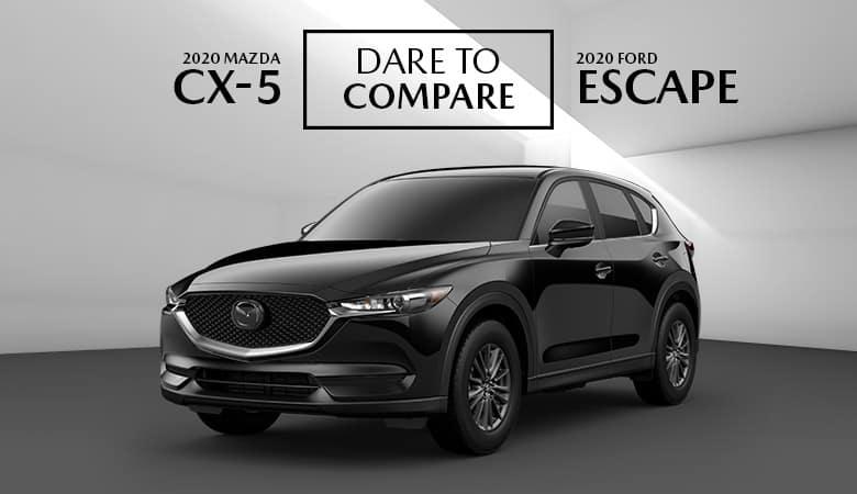 Dare to Compare the 2020 Mazda CX-5 and Ford Escape | Bert Ogden Mazda Edinburg | Edinburg, TX