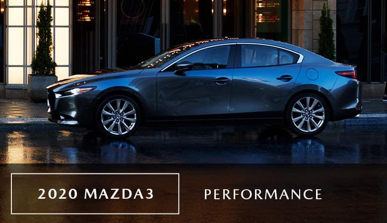 2020 Mazda3 Sedan Performance | Bert Ogden Mazda Edinburg | Edinburg, TX