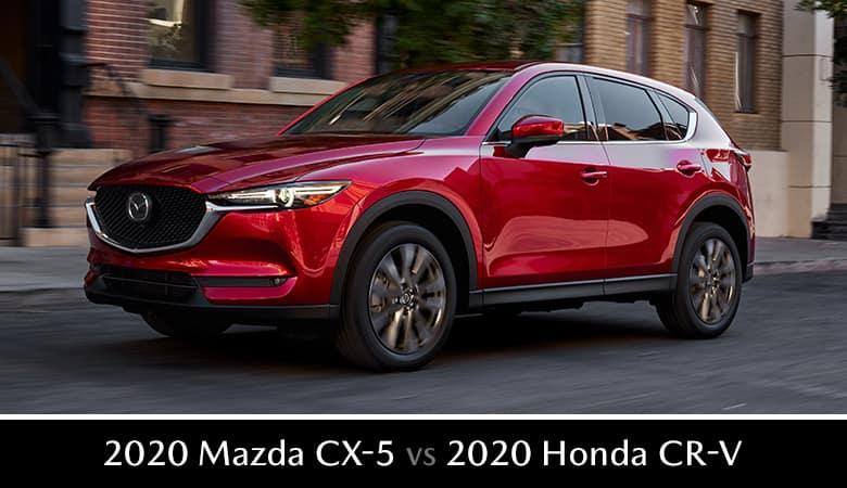 2020 Mazda CX-5 vs. 2020 Honda CR-V - Bert Ogden Mazda Edinburg in Edinburg, Texas
