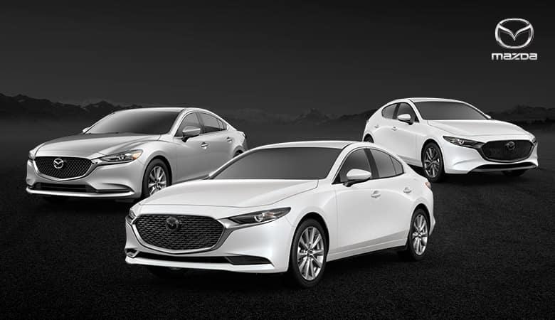 The 2021 Mazda3 Sedan, 2021 Mazda3 Hatchback, and 2021 Mazda6 - Bert Ogden Mazda Edinburg in Edinburg, Texas