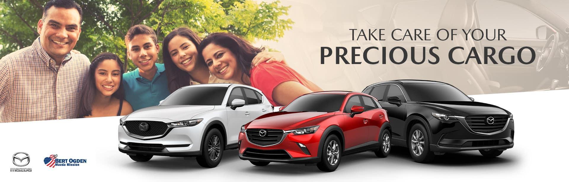 Mazda Vehicles for Large Families | Bert Ogden Mission Mazda | Mission, TX