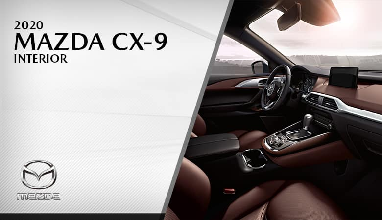 2020 Mazda CX-9 Interior - Bert Ogden Mission Mazda - Mission, TX