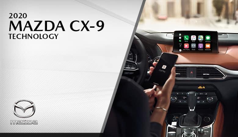 2020 Mazda CX-9 Technology - Bert Ogden Mission Mazda - Mission, TX