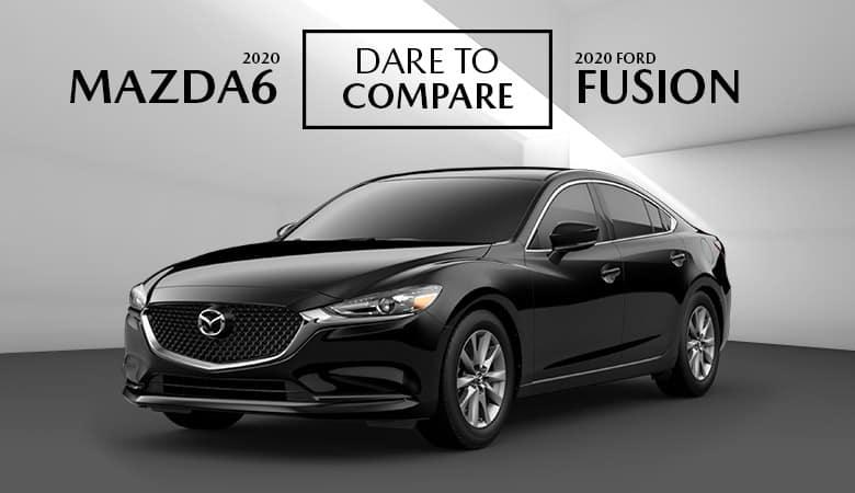 2020 Mazda6 vs. 2020 Ford Fusion  - Bert Ogden Mission Mazda - Mission, TX