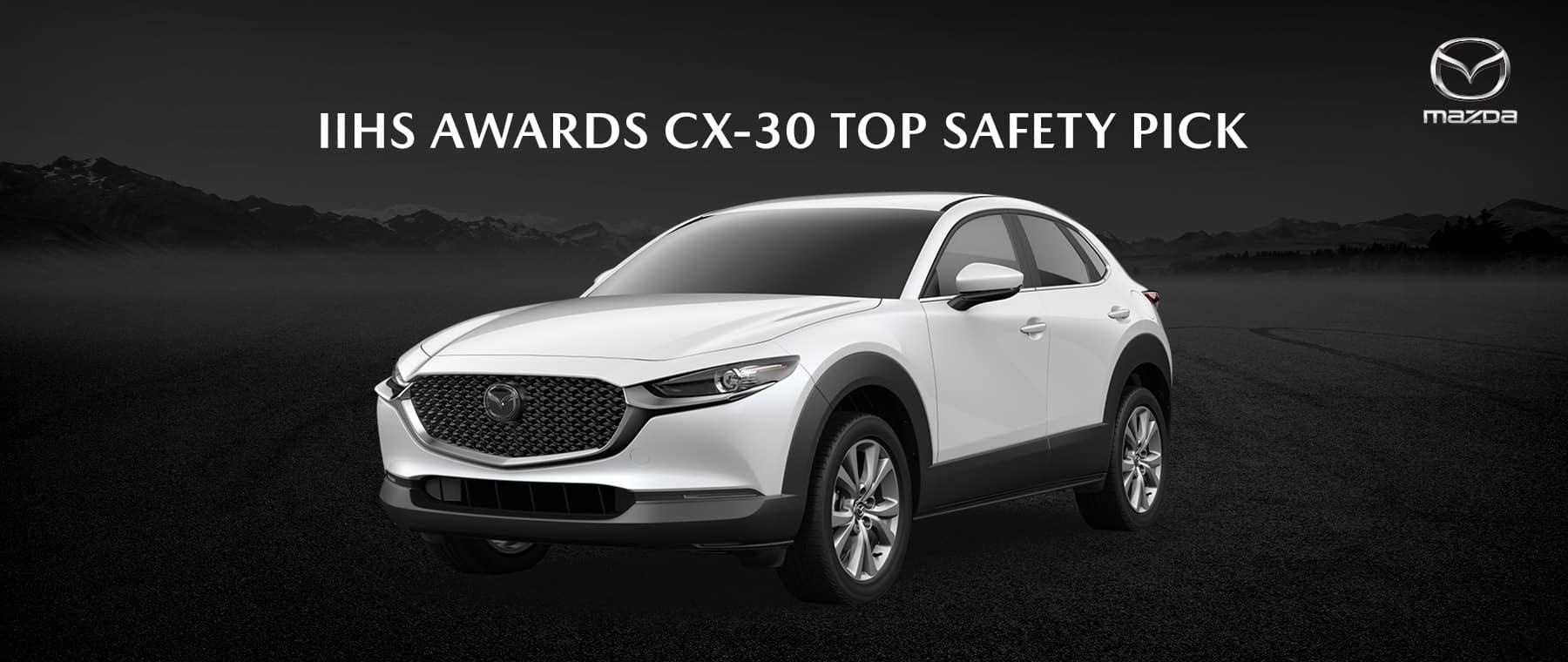 2020 Mazda CX-30 Wins Top Safety Pick Award - Bert Ogden Mission Mazda - Mission, TX