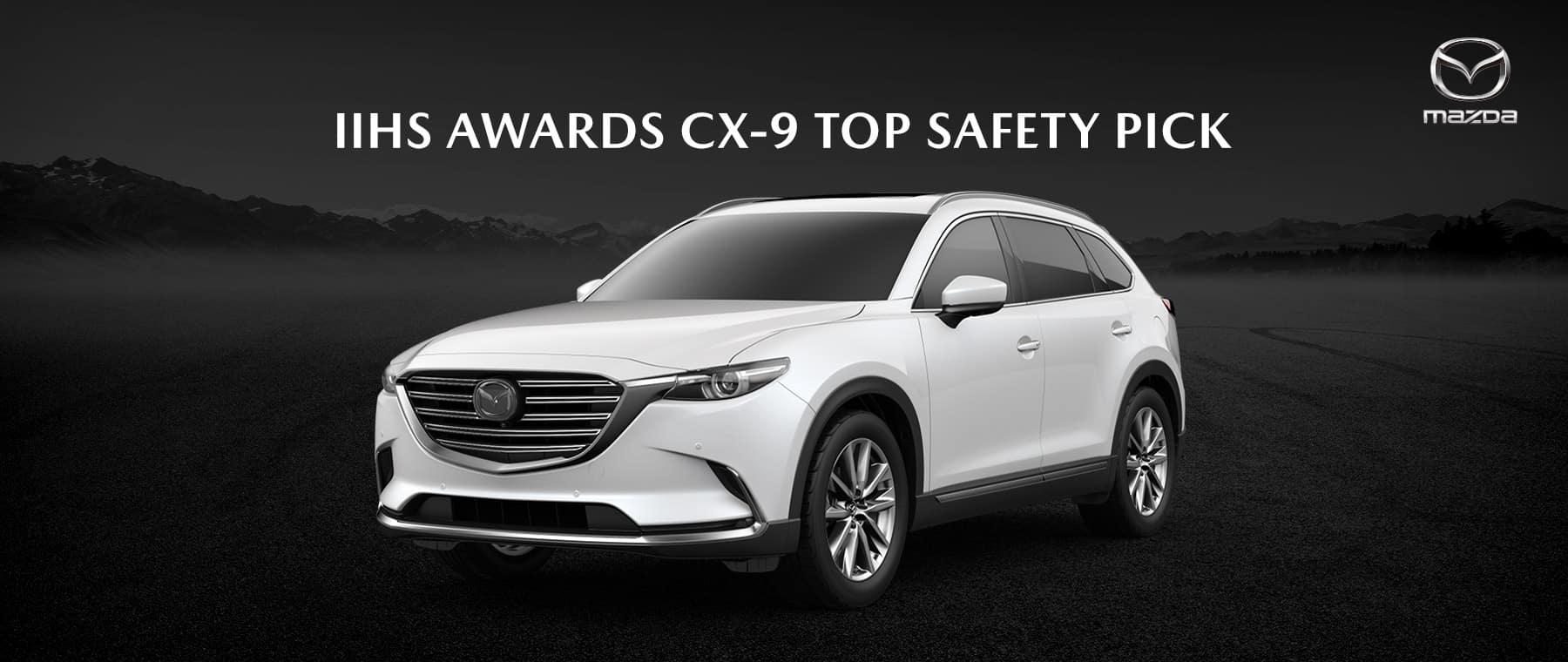 2020 Mazda CX-9 Wins Top Safety Pick+ Award - Bert Ogden Mission Mazda - Mission, TX