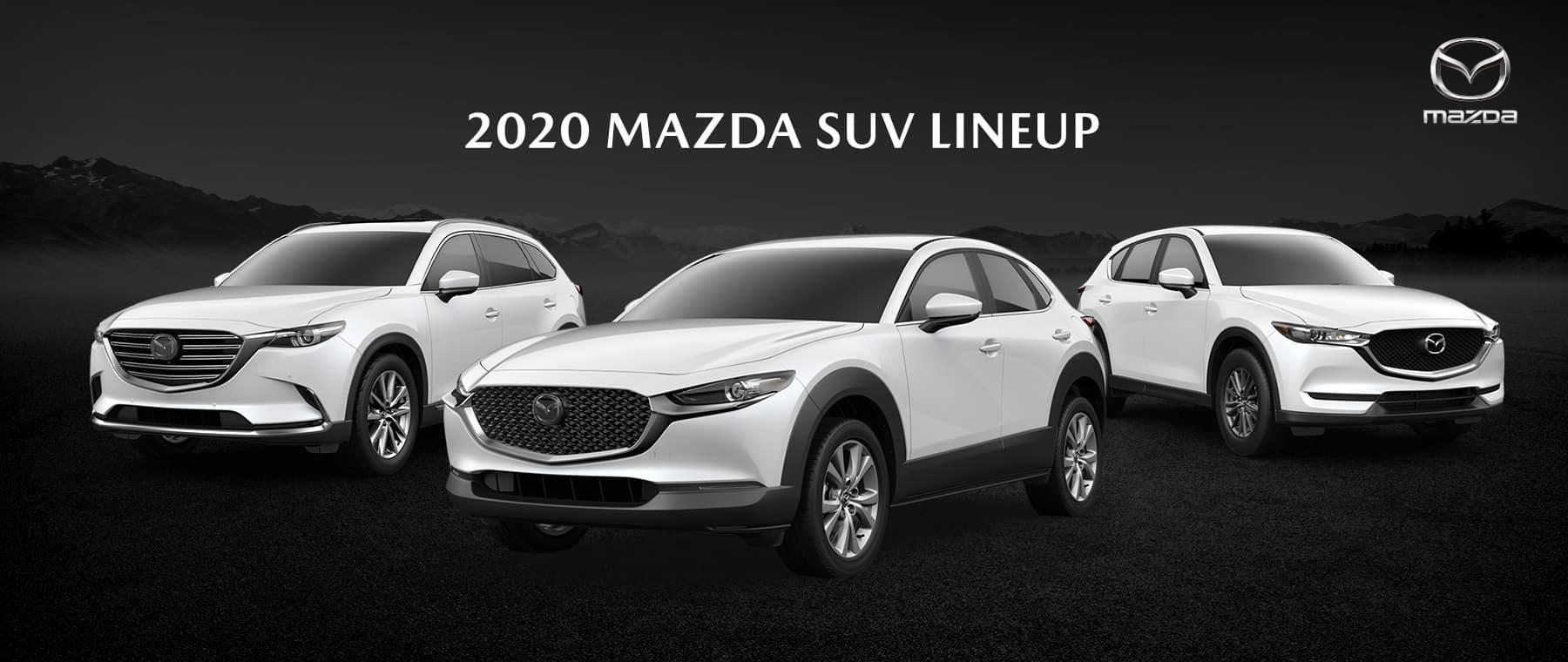 2020 Mazda SUV Lineup - Bert Ogden Mission Mazda - Mission, TX